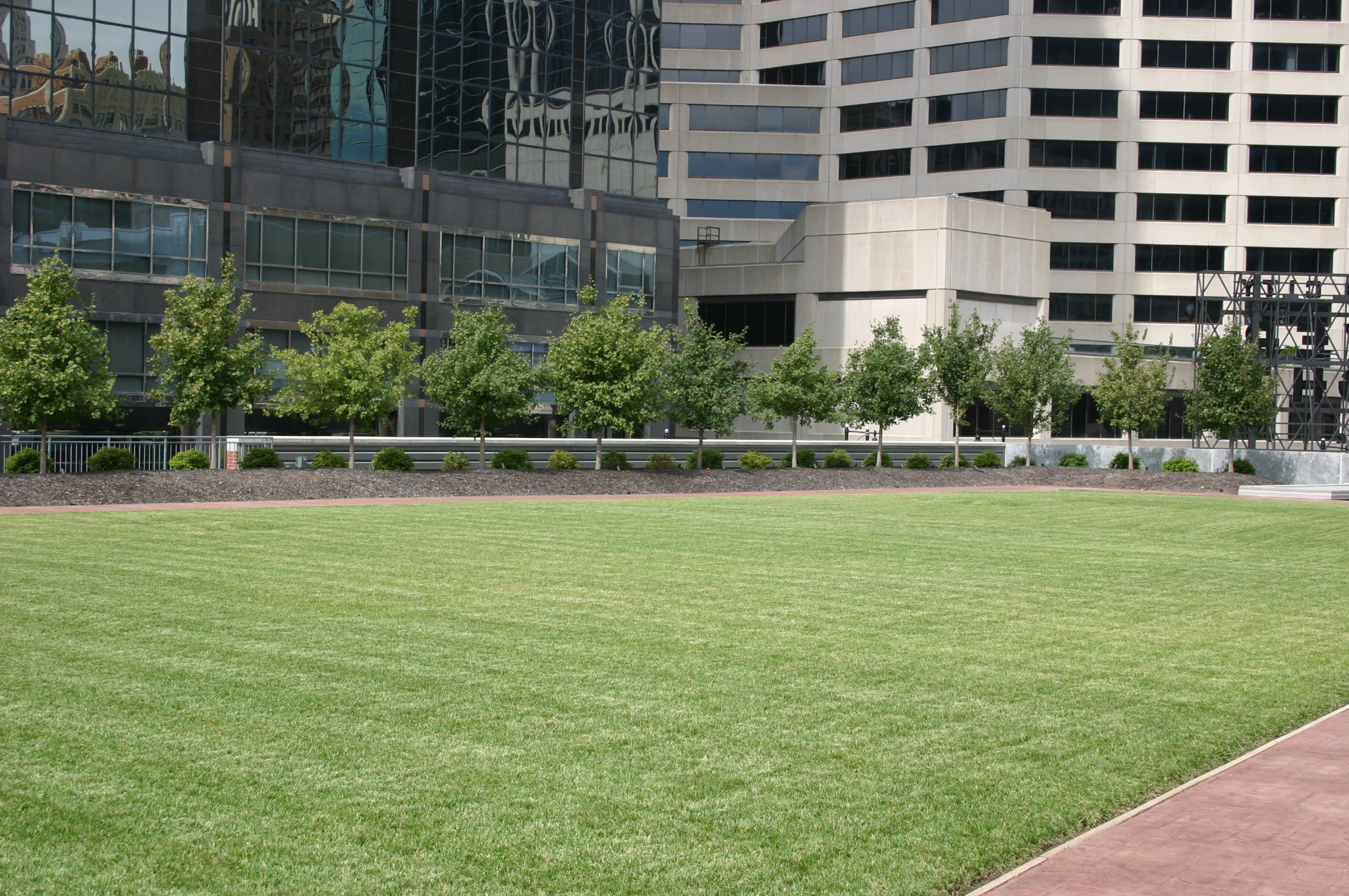 Kansas City Commercial Landscaping | Rooftop
